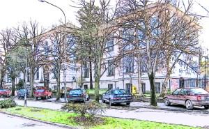 Smederevska Palanka, ulica Vuka Karadzica, gimnazija