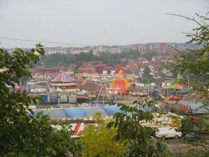 Smederevska Palanka, pogled s'brda, vasar 2008