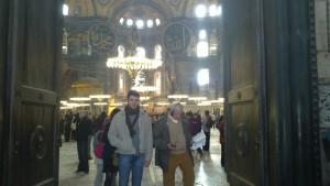 na ulazu u Svetu Sofiju, Istanbul (Carigrad)